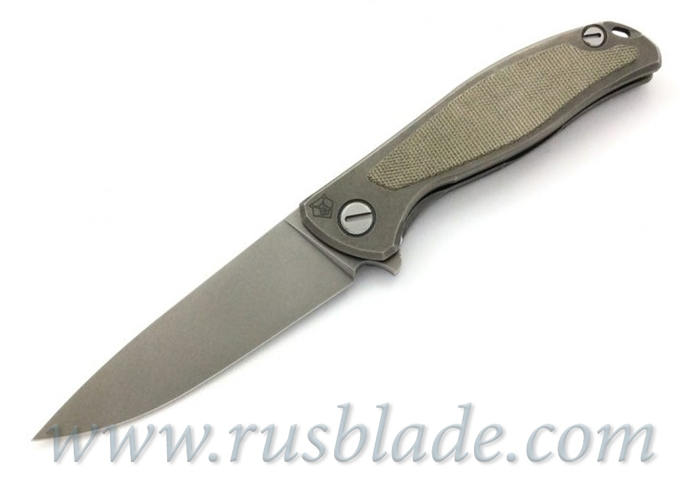 Shirogorov F95NL Elmax Green Canvas Micarta 2019