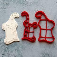 Мышка №13 форма для пряника, мастики, печенья