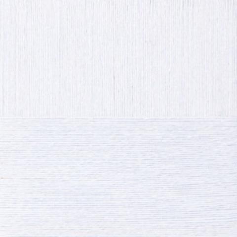 Пряжа Крапивная (Пехорка) 01 белый, фото