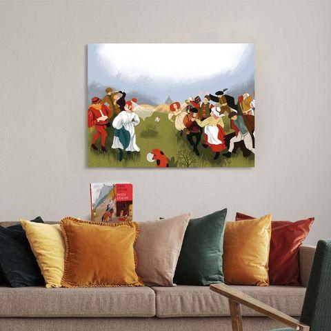 Картина «Свадьба» 40х60см или 60х90см