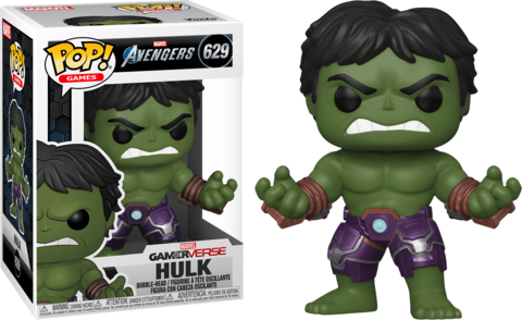 Фигурка Funko Pop! Games: Marvel's Avengers - Hulk