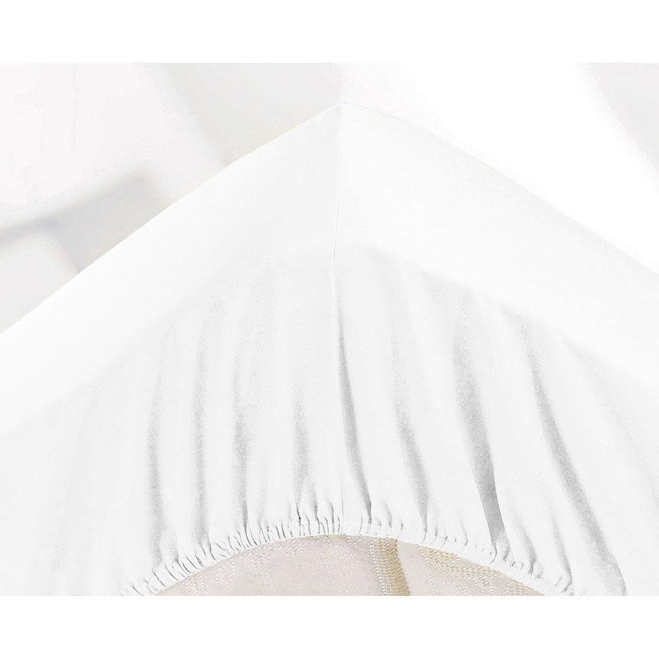 МИКРОФИБРА - Двуспальная простыня на резинке