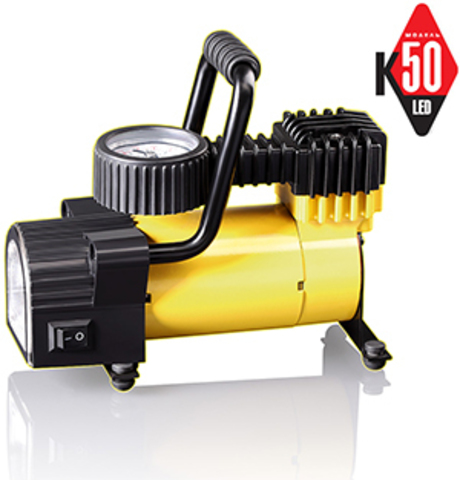 Автомобильный компрессор КАЧОК К50 LED