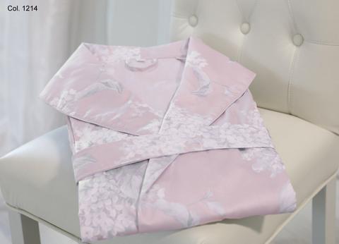 Элитный халат сатиновый Flieder пудрово-розовый от Curt Bauer