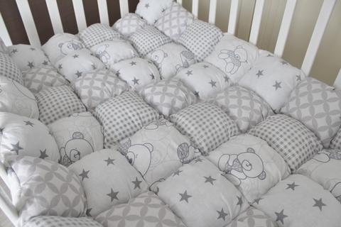 Одеяло Bombon серый