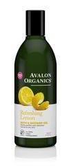 Гель для ванны и душа с маслом лимона  Lemon  Bath&Shower Gel