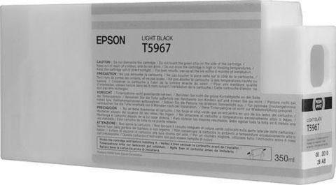Картридж Epson C13T596700 серый 350 мл для Epson Stylus Pro 7890/7900/9890/9900