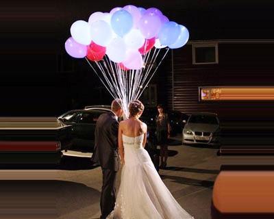 Светящиеся воздушные шарики 5 шт