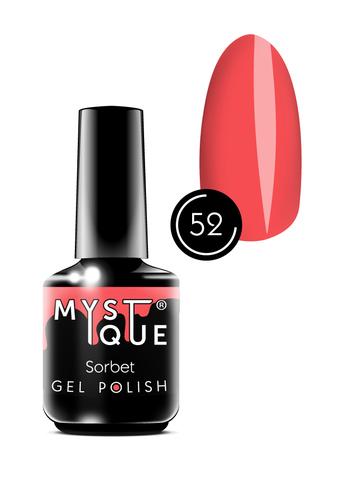 Mystique Гель-лак #52 «Sorbet » 15 мл