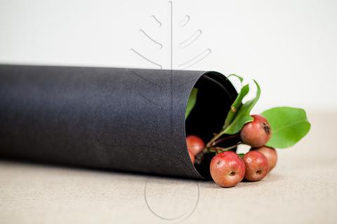 Моющаяся крафт-бумага цвет черный, 5 размеров