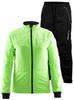 Детский лыжный костюм Craft Touring (1903519-2810-194695-9920) зеленый
