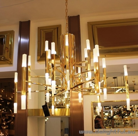 chandelier THE LIGHT ( gold )