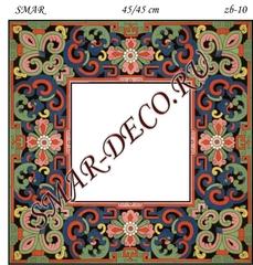 Эскиз для росписи, Зеркало 45/45см, SMAR-zb-10