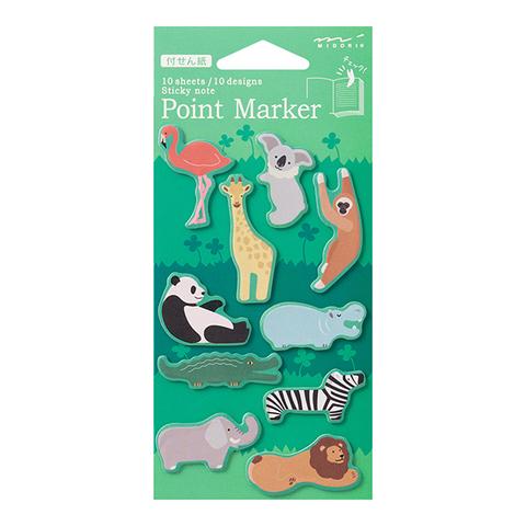 Midori Point Marker (Dōbu~tsuen-gara, зоопарк)