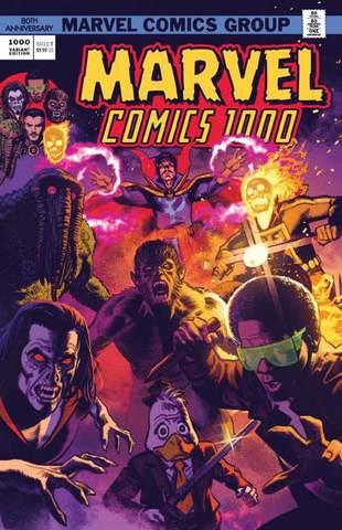 Marvel Comics #1000. Золотая Коллекция. Лимитированная обложка