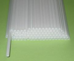 Трубочка полимерная для шаров, флагштоков и сахарной ваты / 100 шт. /