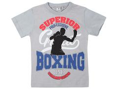 19065-20 футболка для мальчиков, серая