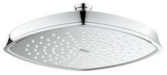 Верхний душ GROHE Rainshower Grandera, 1 режим, 220х200 мм, хром 27974000