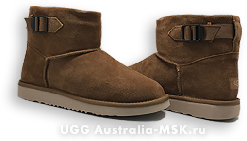 UGG Men's Classic Mini Strap Brown