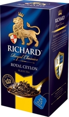 "Чай черный ""Richard"" Royal Ceylon 2г*25"