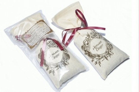 Аромасаше СOFFEE&СOCOLATE (кофе и шоколад), в тканевом мешочке, TM Aromatte