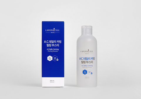 Очищающий тонер с кислотами, 200 мл / Lapothicell A.C. Daily Calming Peeling Booster