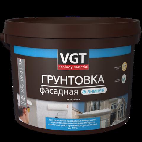 VGT ГРУНТОВКА ФАСАДНАЯ ЗИМНЯЯ (ДО -10°С) ВД-АК-0301