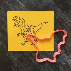 Динозавр №1