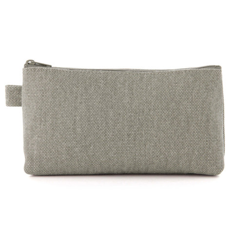 Пенал Muji Canvas Pencil Case With gusset zipper 19x10x5 cm