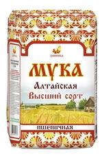 Мука пшеничная, Дивинка, Алтайская, Высший сорт, 2 кг
