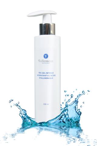 Follement FdC-gel intense hydratant a I'acide hyaluronique - Интенсивно увлажняющий FdC-гель с гиалуроновой кислотой