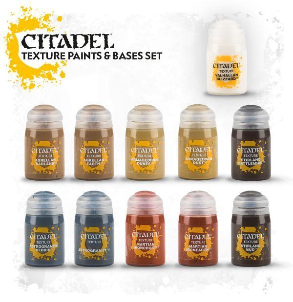 Citadel Texture Paints Base Set Citadel Texture Paints