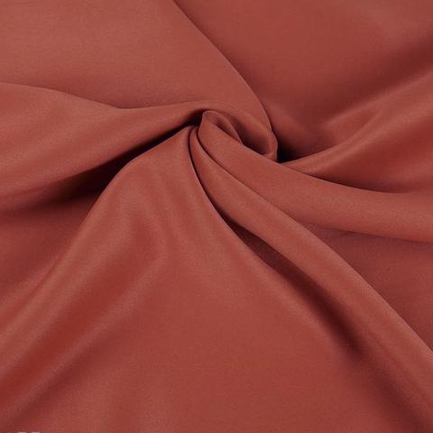 Ткань блэкаут для штор терракотовая оптом. AF-20