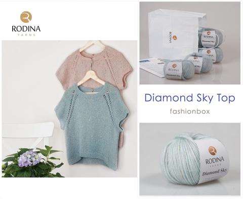 Diamond Sky Top - Fashionbox