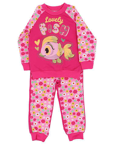 Basia Комплект для девочки Л885-3876  розовый