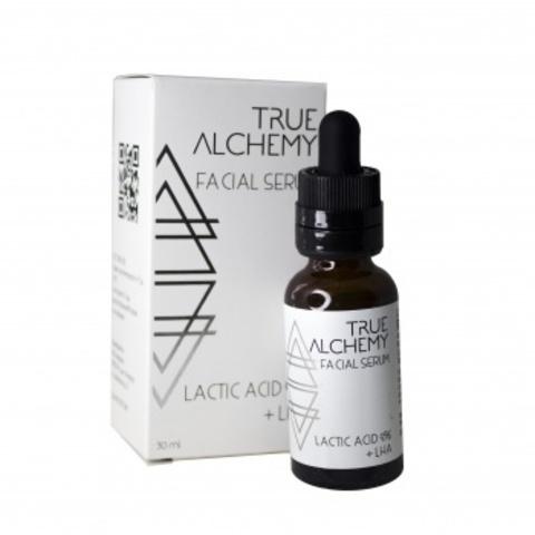Сыворотка Lactic Acid 9% + LHA, 30 мл (TRUE ALCHEMY)
