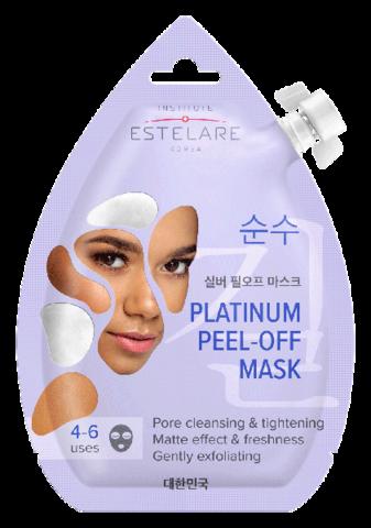 Institute Estelare Платиновая маска-пленка для лица Матирующая 20мл