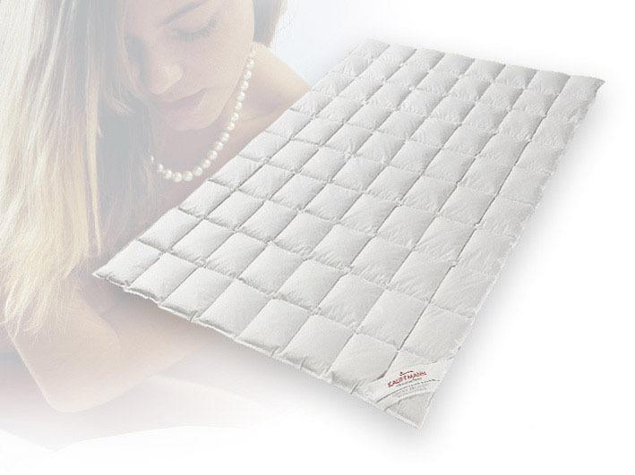 Одеяла Одеяло пуховое очень легкое 200х220 Kauffmann Пух Гаги в хлопке odeyalo-puhovoe-kauffmann-puh-gagi-v-hlopke-avstriya.jpg