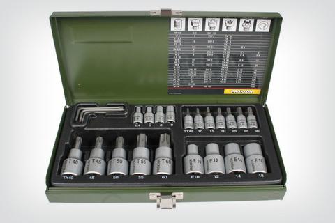 PROXXON Комплект торкс насадок из 23 шт.