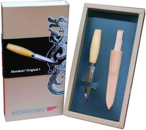 Нож Morakniv Classic Original №1 (в подарочной упаковке), арт. 11934