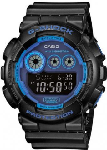 Купить Мужские часы CASIO G-SHOCK GD-120N-1B2ER по доступной цене