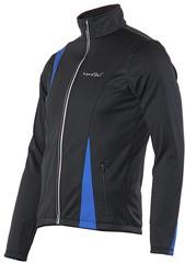 Утеплённая лыжная куртка Nordski Active Black-Blue 2016