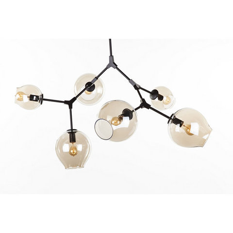 replica   BRANCHING BUBBLE CHANDELIER  6 by LINDSEY ADELMAN ( dark )