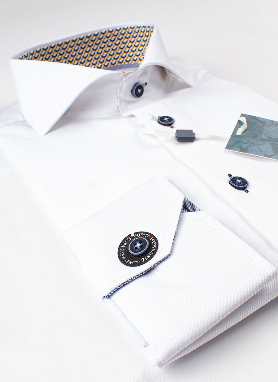 Рубашка Ledub slim fit 0137360-910-390-171