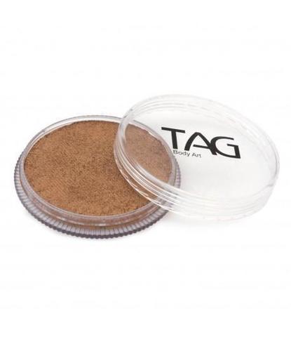 Аквагрим TAG 32гр перламутровый старое золото