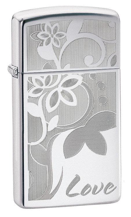 Зажигалка Zippo Slim Love Engraving № 24816