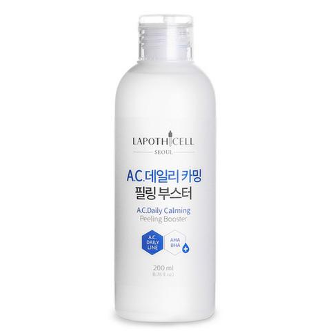 Очищающий тонер для проблемной кожи Lapothicell AC Daily Calming Peeling Booster
