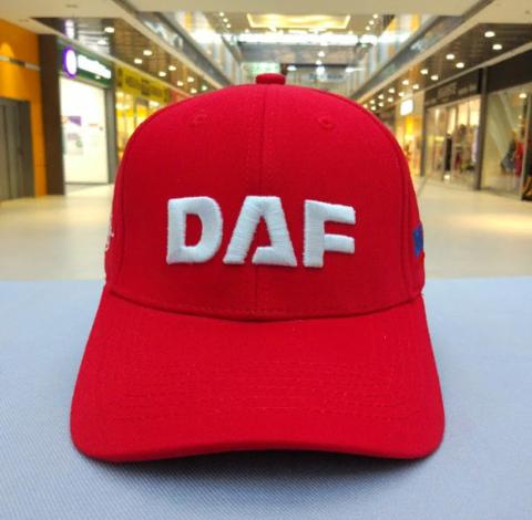 Кепка ДАФ красная (Бейсболка DAF)