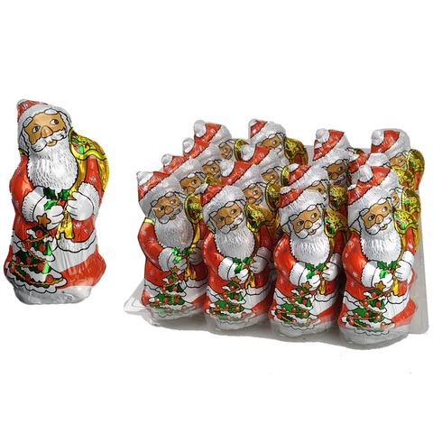Дед Мороз форм. фольга 1кор*4бл*16шт, 100гр