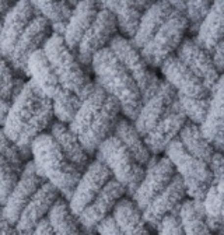 Пряжа Puffy (Alize) 428 средне-серый, фото